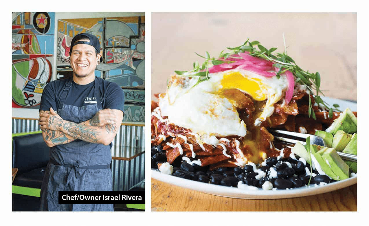 Chef Israel Rivera and Chilaquiles